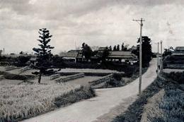 昭和30年頃の月輪寺周辺